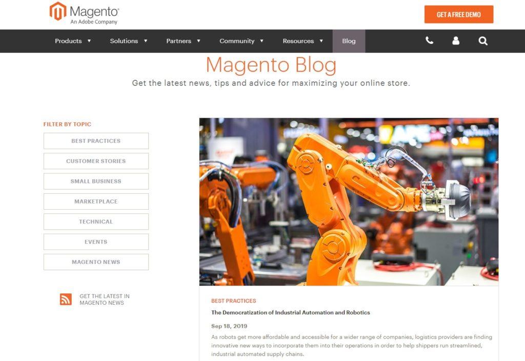 Magento 2 Blog