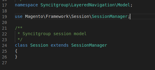 Magento Session Manager